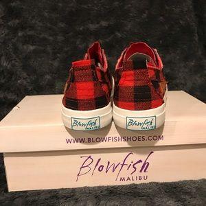 Blowfish Shoes - Buffalo check blowfish sneakers